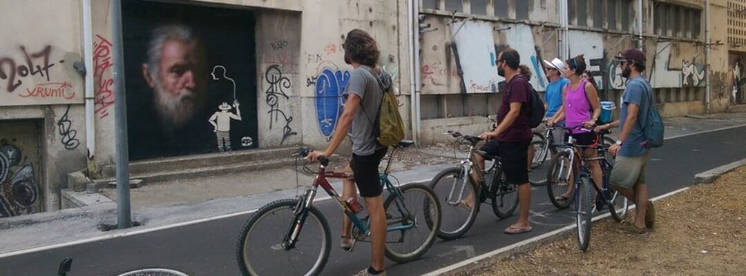 Street Art Bike tour in Lisbon